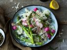 Spring Risotto with Asparagus and Radishes recipe