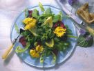 Spring Salad with Flowers recipe