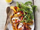 Squash Salad with Peppers and Yogurt recipe