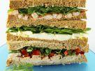 Stacked Sandwich Trio recipe