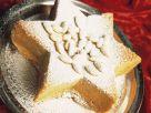 Star-shaped Almond Vanilla Cake recipe