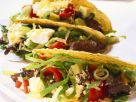 Steak and Vegetable Tacos recipe