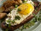 Steak with Fried Egg and Potatoes recipe