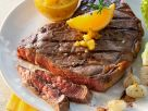 Steak with Orange and Onions recipe