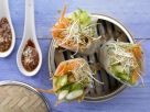 Steamed Asian Wraps recipe