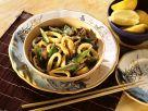 Stir Fried Calamari with Shiitake Mushrooms recipe