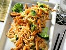 Stir-Fried Pork with Vegetables and Noodles recipe
