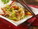 Stir-fried Turkey and Vegetables recipe