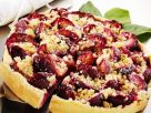 Stone Fruit Pie with Topping recipe