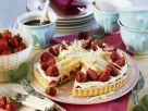Strawberry Cake with White Chocolate Cream recipe
