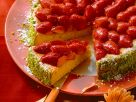 Strawberry-Carrot Cake with Pistachios recipe