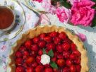 Strawberry Flan recipe