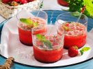 Strawberry Lime Coconut Drink with Mint recipe