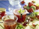 Strawberry-Rhubarb Jam with Kiwi recipe