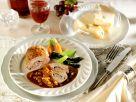 Stuffed Duck Breast with Creamy Tomato Sauce recipe