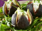 Stuffed Figs on Pine Nut Arugula Salad recipe
