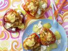 Stuffed Flying-Saucer Peppers recipe