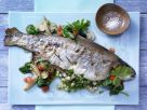 Stuffed Lake Trout recipe