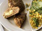Stuffed Meatballs with Cucumber Salad recipe