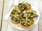 Stuffed Mushrooms with Arugula and Gorgonzola recipe