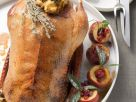 Stuffed Roast Goose with Baked Apples recipe