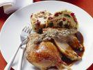 Stuffed Roast Goose with Fruit Bread recipe
