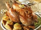Festive Golden Turkey Roast recipe