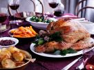 Stuffed Roast Turkey with Potatoes recipe