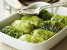 Stuffed Savoy Cabbage Leaves recipe