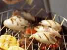 Stuffed Squid Skewers recipe