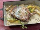 Stuffed Veal Chops recipe