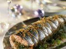 Stuffed Whole Fish with Nuts recipe
