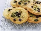 Sugar-free Polenta, Pistachio and Chocolate Chip Biscuits recipe