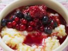 Summer Berry Rice Pudding recipe