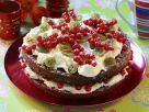 Summer Cake with Red Currants and Gooseberries recipe