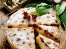 Sunken Sour Cherry Cake recipe