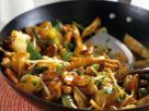 Sweet and Sour Chicken Stir-Fry with Pineapple and Vegetables recipe