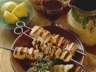 Sweet and Spicy Chicken Skewers recipe