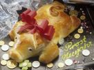 Sweet Bread in the Shape of Pig recipe