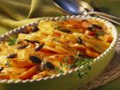 Sweet Potato Carrot Gratin with Pumpkin Seeds recipe