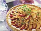 Tart with Lemon Cream and Plums recipe