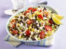 Tex-Mex Style Rice and Bean Salad recipe