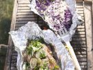Thai BBQ Salmon with Cabbage recipe