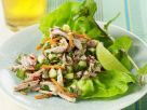 Thai Style Lettuce Wrap with Turkey and Lime Vinaigrette recipe