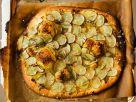 Thin Crust Sliced Potato and Rosemary Pizza recipe