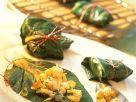 Tofu and Vegetable Stuffed Chard Leaves recipe