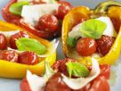 Tomato and Mozzarella Stuffed Baked Peppers recipe