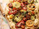 Tomato and Pesto Pizza recipe