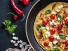 Tomato Bacon Omelet recipe