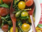Tomato & Caper Salad with Herb Dressing recipe